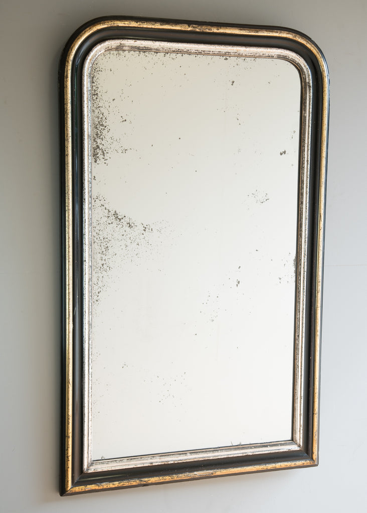 Gilt & Ebonised Mirror - SOLD