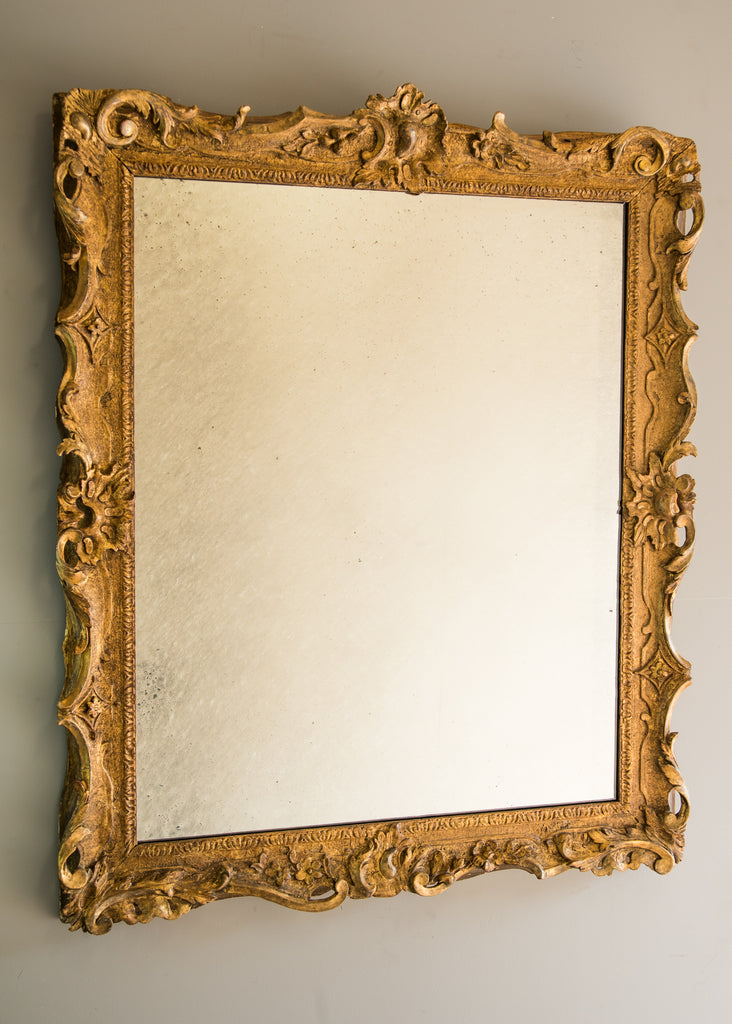 Carved Giltwood Mirror - SOLD