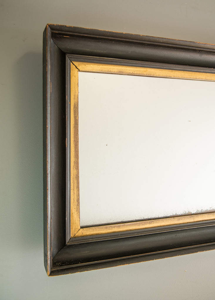 English gilt ebonised mirror for What is a gilt mirror