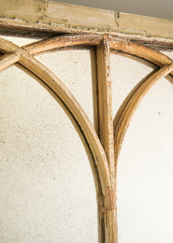 Gothic Arched Window Mirror - SOLD