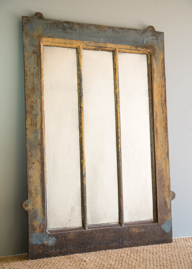 Industrial Window Mirror - SOLD