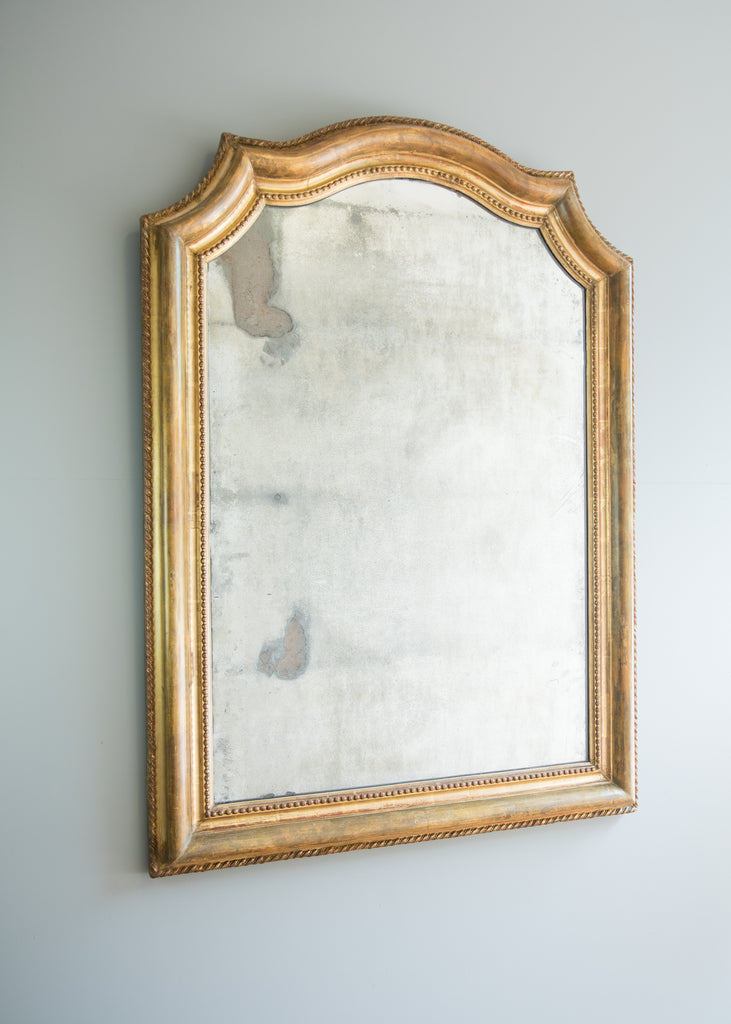 Mid 19th Century French Gold Gilt Mirror
