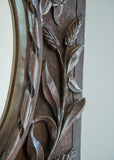 English Carved Oak Mirror - SOLD