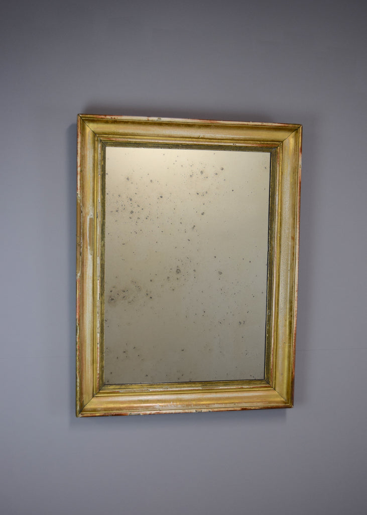 Late 19th Century French Giltwood Mirror