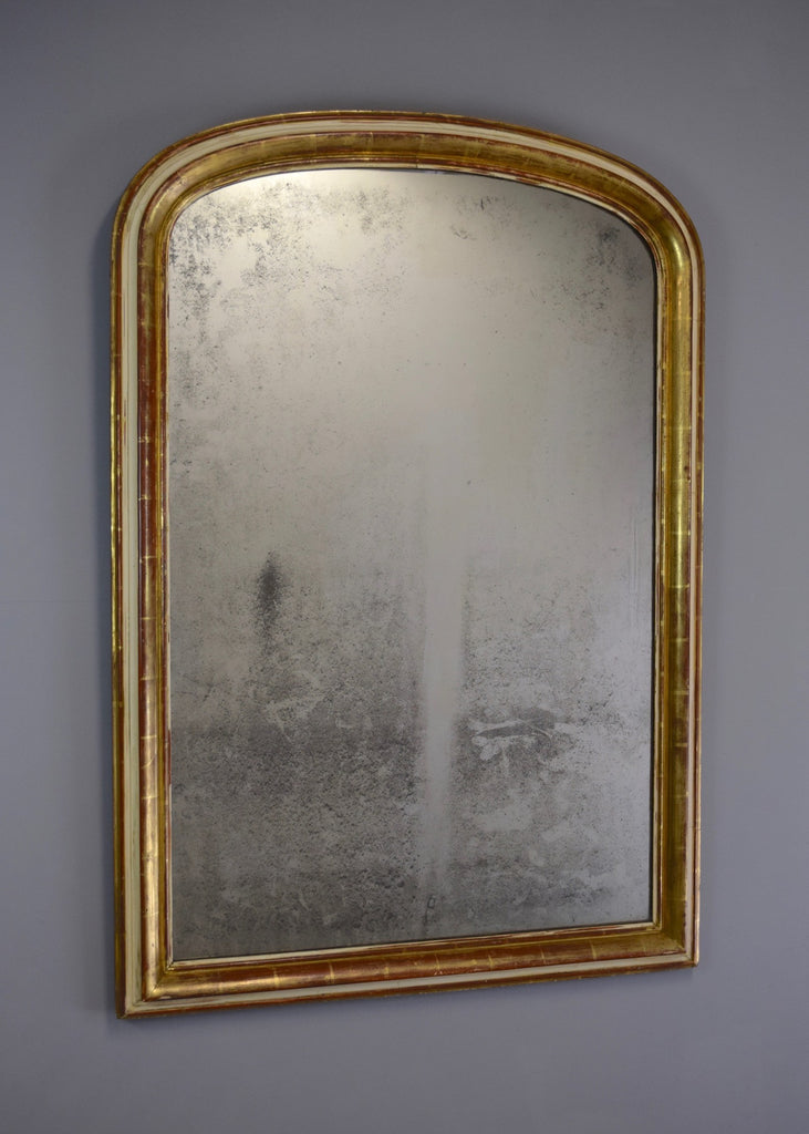 French Gilt & Gesso Mirror - SOLD