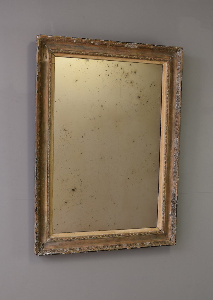 Late 19th Century Painted English Mirror