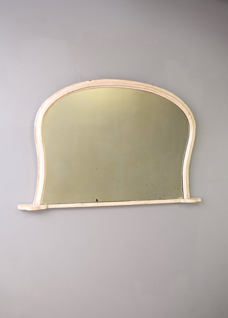 English Overmantel Mirror