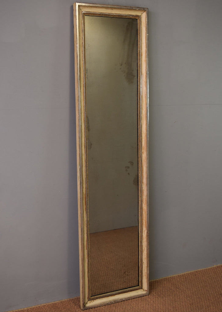 Late 19th Century Silver Gilt & Gesso French Dressing Mirror