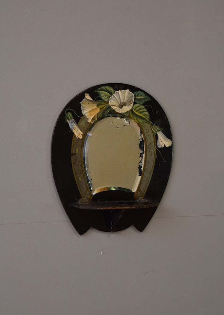 English Papier Mache Mirror
