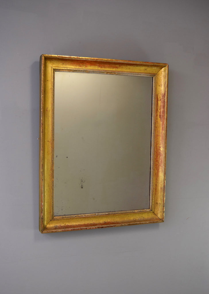 Gilt French Mirror