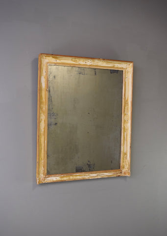 Distressed French Mirror