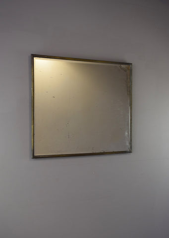 Brass Framed Mirror | Rough Old Glass