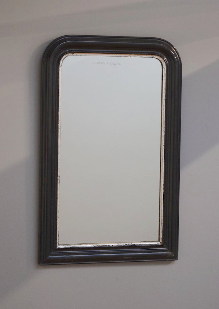 French Ebonised Mirror