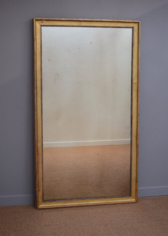French Gilt Antique Mirror | Rough Old Glass
