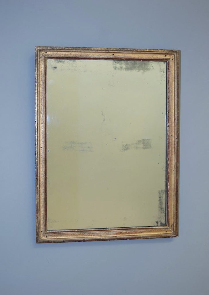 Gold Gilt French Mirror