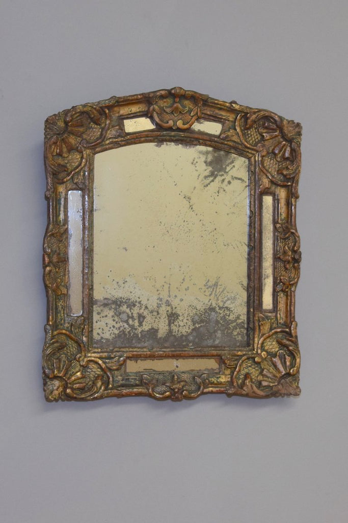 Late 18th Century French Carved Gilt wood Mirror
