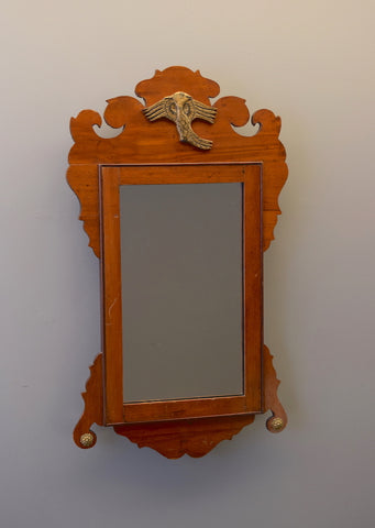 Early 20th Century Mahogany Chippendale Style Mirror