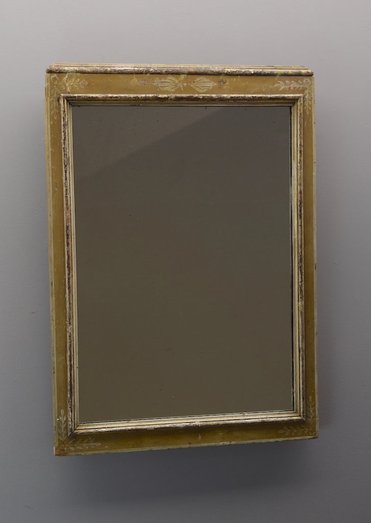 Painted English Mirror