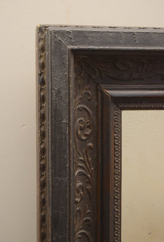 Pair of Ebonised Mirrors