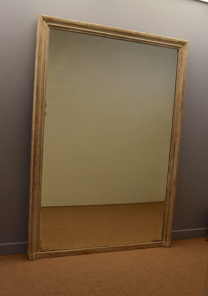Large French Overmantel Mirror