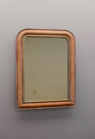 Late 19th Century French Painted & Gilt Mirror