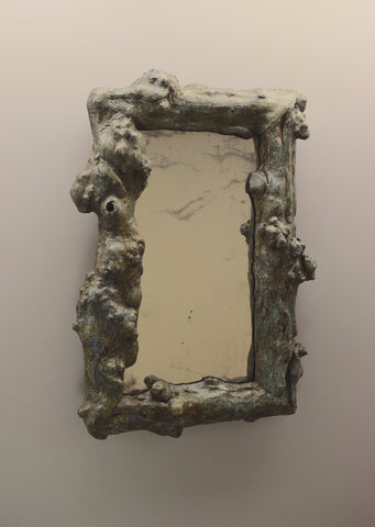 Painted Grotto Mirror