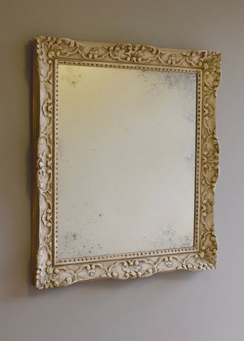 Carved Wood & Gesso Frame