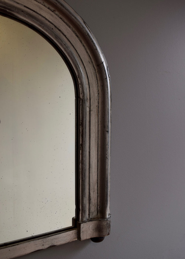 Silver Gilt Overmantel Mirror - SOLD