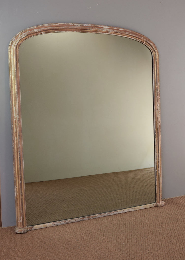 English Overmantel Mirror - SOLD