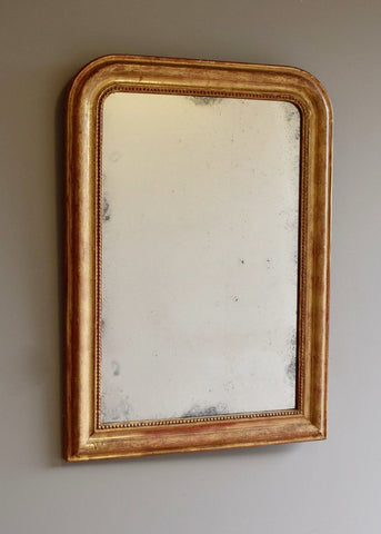 French Gilt Mirror | Rough Old Glass