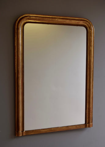 French Gold Gilt Louis Phillipe Mirror