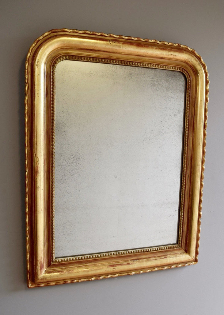 French 'Pie Crust' Louis Phillipe Mirror