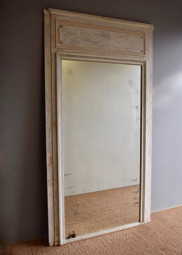 Large Early 20th Century French Trumeau Mirror