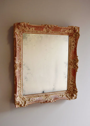 English Swept Mirror