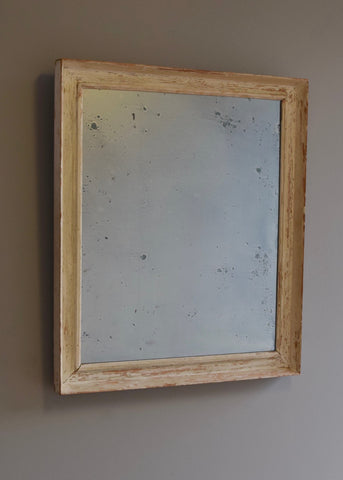 Distressed Painted Mirror