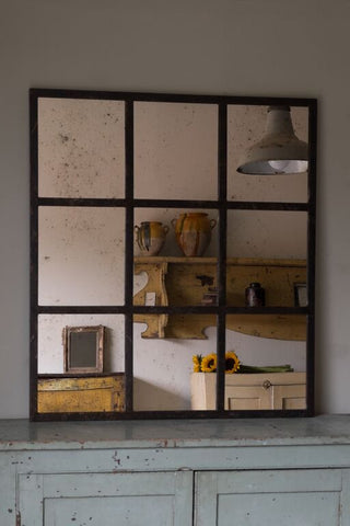 Steel Critall Mirror