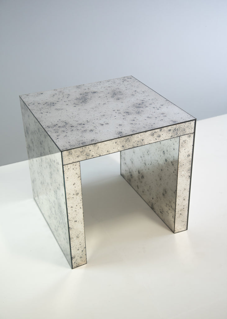 Really Rough Open Side Table