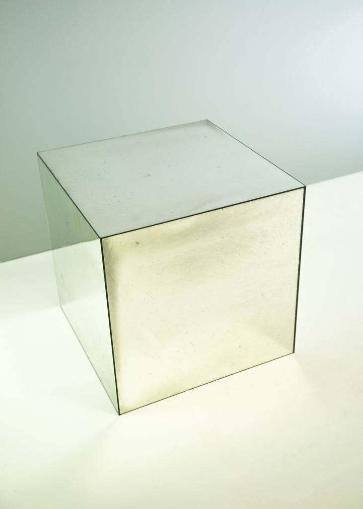 Foxed Cube Table