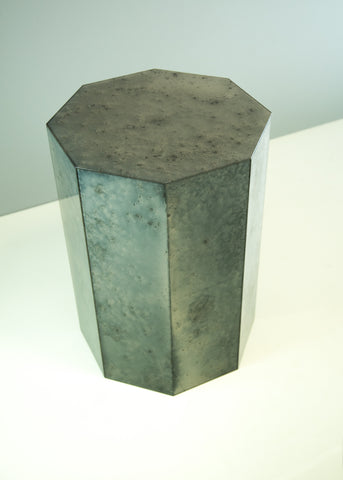 Heavy Sparkle Octagonal Side Table