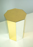 Ombre Octagonal Side Table