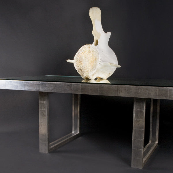 Verre Eglomise Dining Table