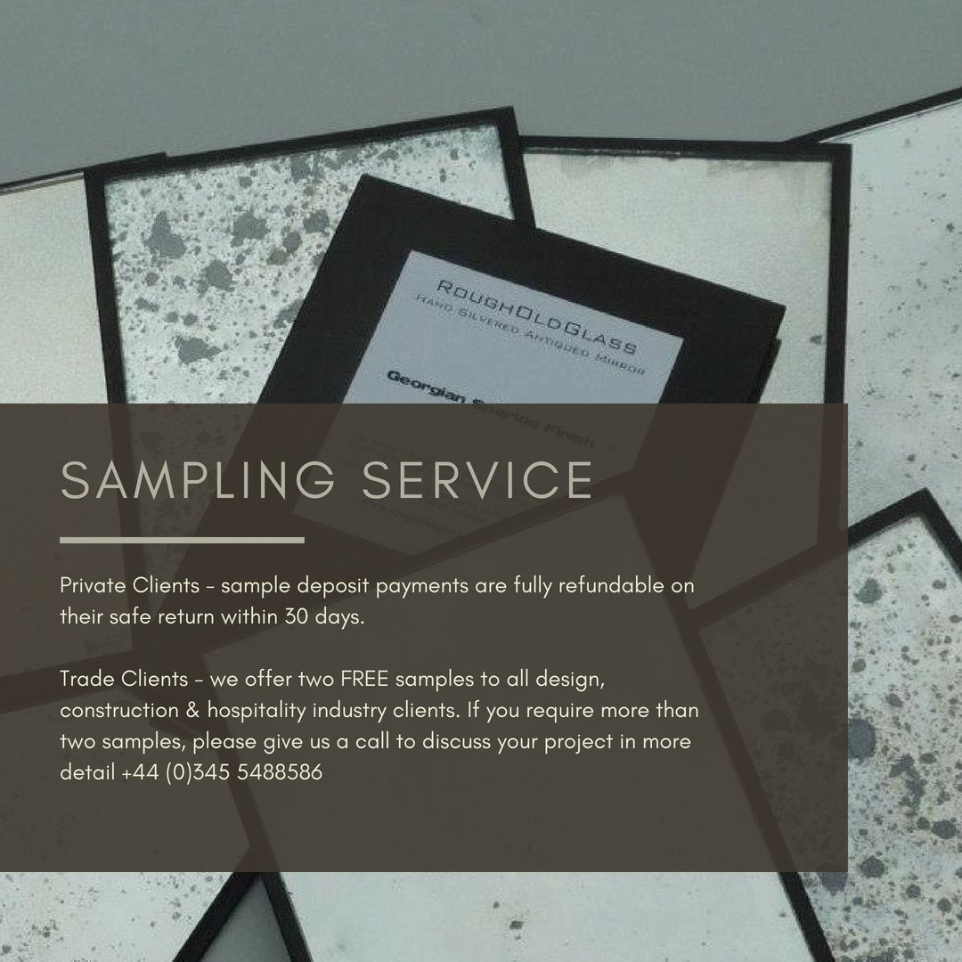 Rough Old Glass Sampling Service