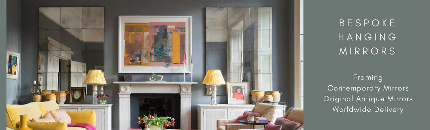 Contemporary Framed Mirrors by Rough Old Glass