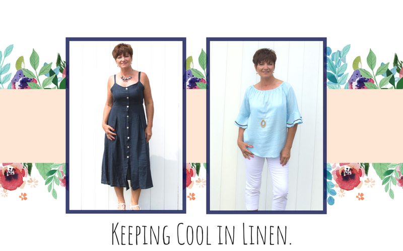 Keeping Cool In Linen This Summer.