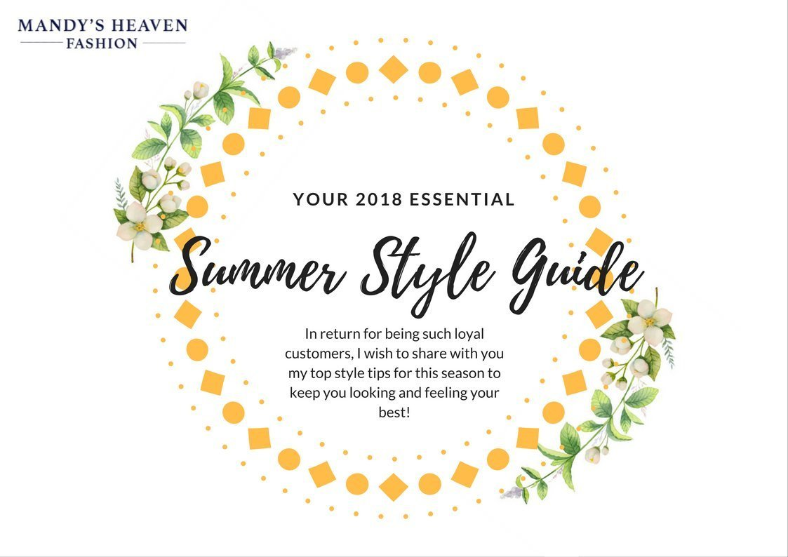 Your Summer 2018 Style Guide