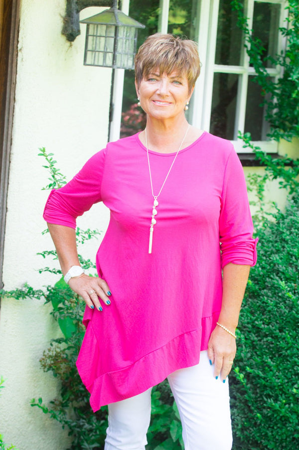 Fuchsia Basic Asymmetric Top