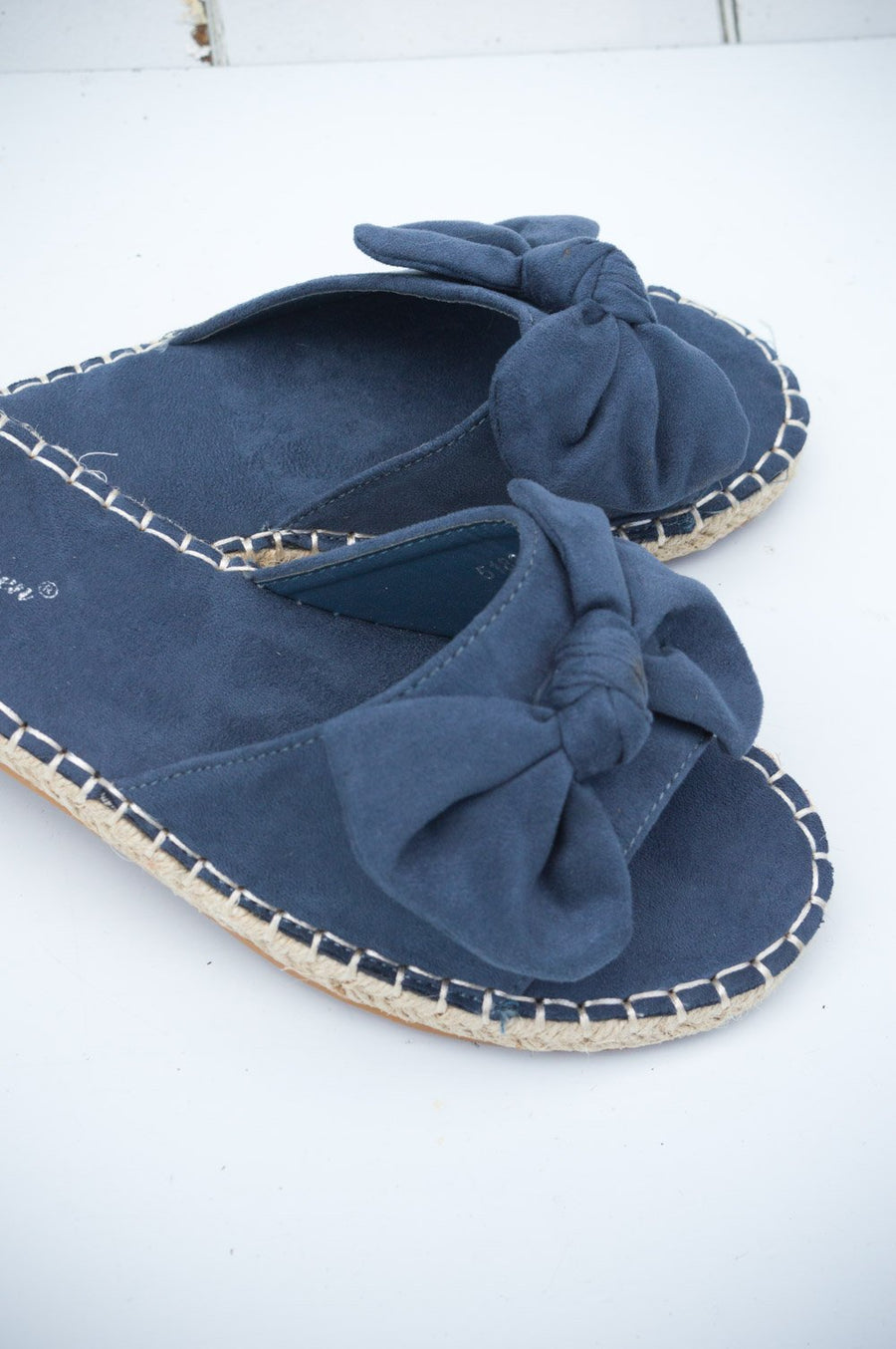 Boathouse Blue Open-toe Espadrilles
