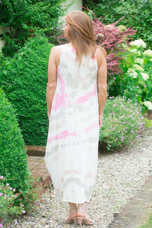 Pink Watercolour Dress