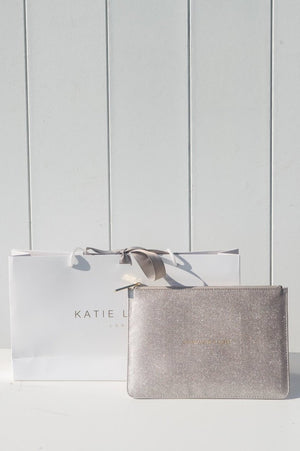 Katie Loxton 'Champagne Please' Perfect Pouch