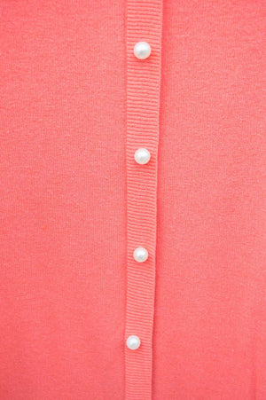 Coral Pearl Back Detail Jumper